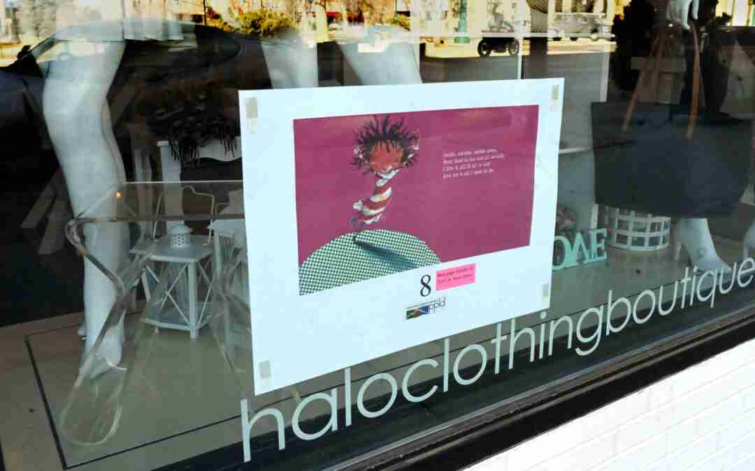 Stroll-a-Story Invites Children to Read Stories on Windows in Downtown Colorado Springs