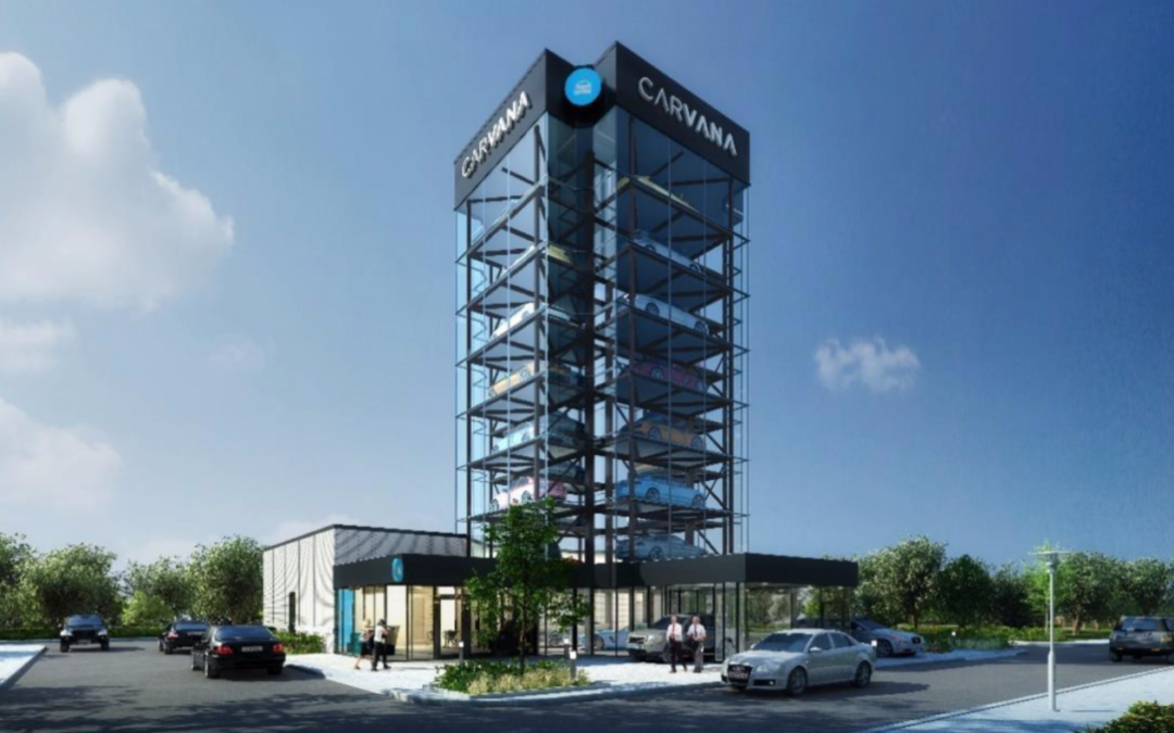 Tall, Glass Parking Garage Marketed as Car 'Vending Machine' Approved for Southeast Denver